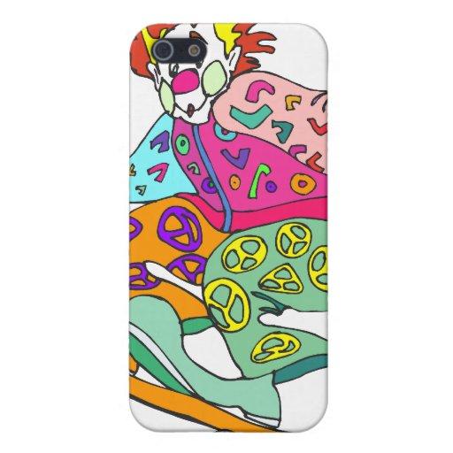 Payaso del patinador iPhone 5 coberturas