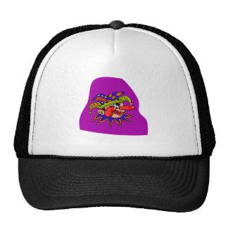 Payaso del perfil del gorra del bufón