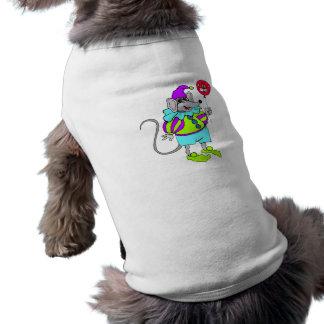 Payaso del ratón camiseta de mascota