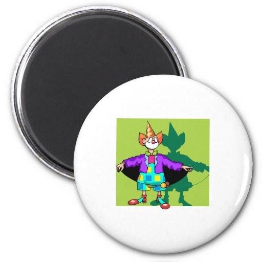 Payaso del yoyo imán redondo 5 cm
