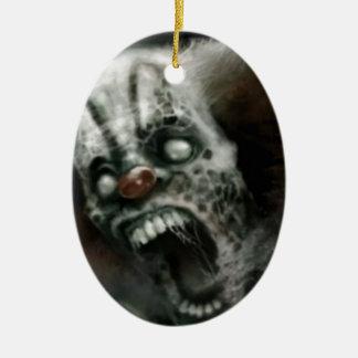payaso del zombi ornamento de reyes magos