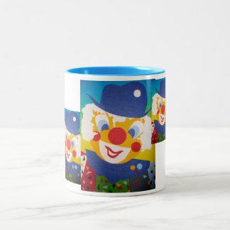 Payaso divertido taza