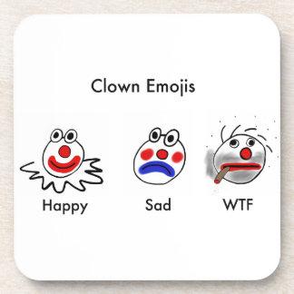 Payaso Emojis Posavasos De Bebidas