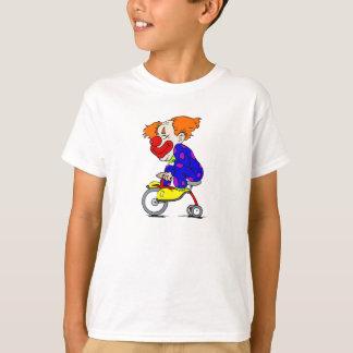 Payaso en el triciclo playera