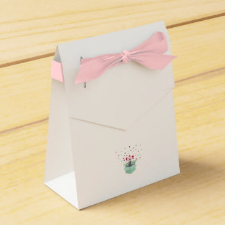 Payaso en una caja caja para regalos