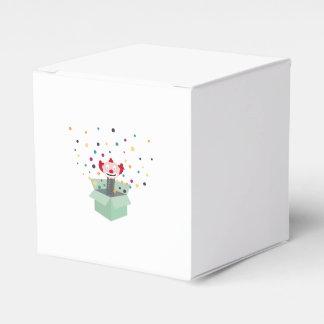 Payaso en una caja cajas para regalos de boda