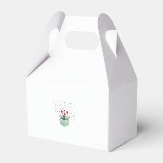 Payaso en una caja cajas para regalos de fiestas