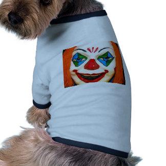 Payaso espeluznante camisetas de perro