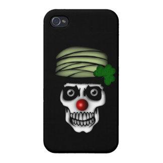 Payaso esquelético irlandés iPhone 4/4S carcasa