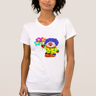 Payaso feliz camisetas