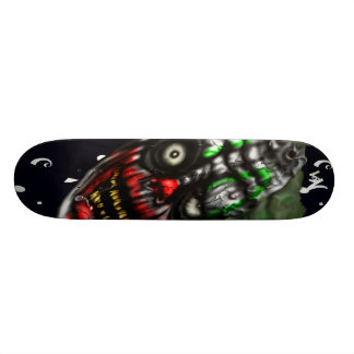 Payaso malvado tabla de skate