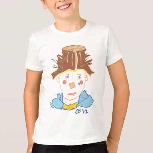 Payaso pintado (la camiseta de los niños)