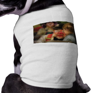 Payaso - pintura de la cara ropa para mascota