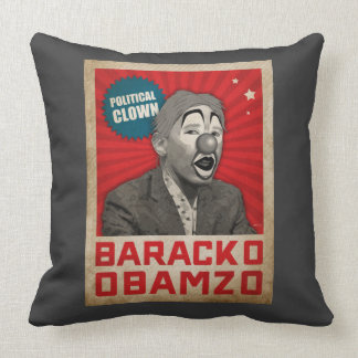 Payaso político almohada