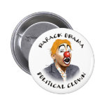 Payaso político pin