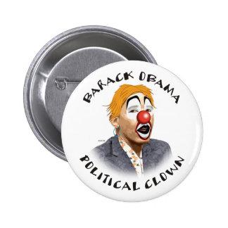 Payaso político pin redondo 5 cm