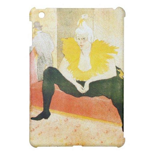 Payaso que se sienta por Toulouse-Lautrec