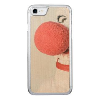 Payaso rojo de la nariz funda para iPhone 7