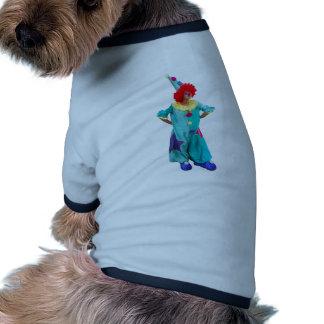 payaso camisas de mascota