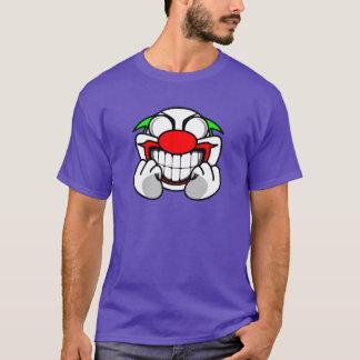 Payaso sonriente (púrpura) playera