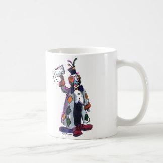 payaso taza de café