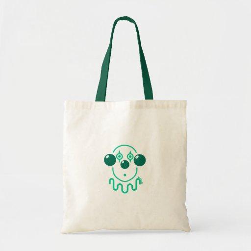 Payaso - verde caqui bolsas de mano
