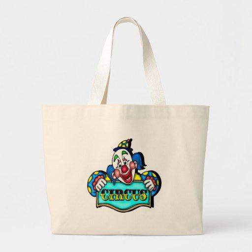Payasos de circo bolsa de mano