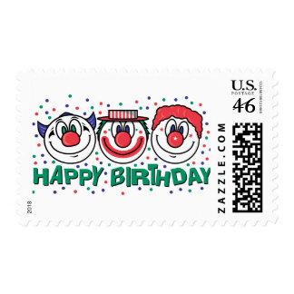 Payasos del feliz cumpleaños