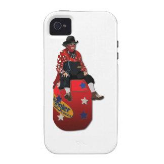 Payasos del rodeo iPhone 4/4S funda