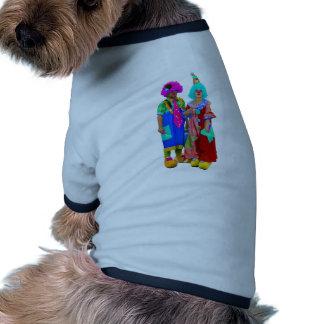 payasos camisa de perrito