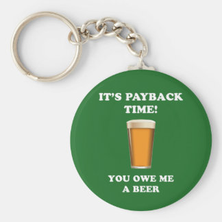 Payback Time Keychain