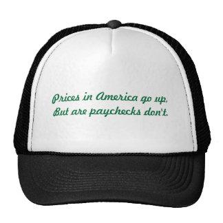 paychecks trucker hat
