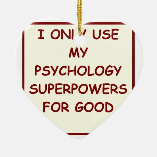 paychology psychologist christmas ornaments