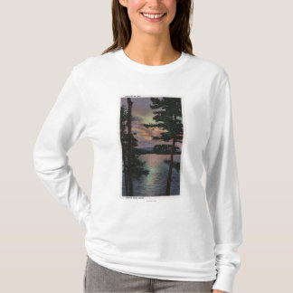 Payette Lake, ID - Evintide on Lake Scene T-Shirt