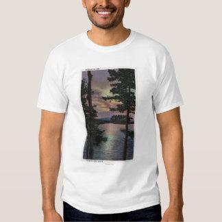 Payette Lake, ID - Evintide on Lake Scene Tshirt
