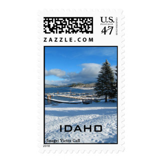 Payette Lake, McCall, Idaho Postage Stamp