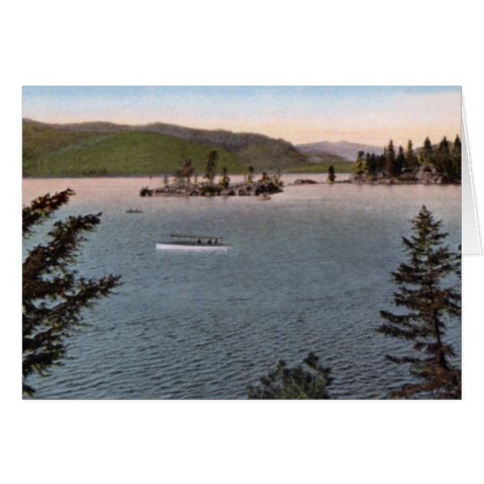 Payette Lake near McCall Idaho Card