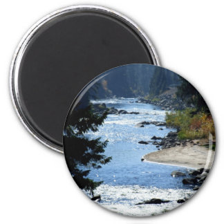 Payette River 2 Inch Round Magnet