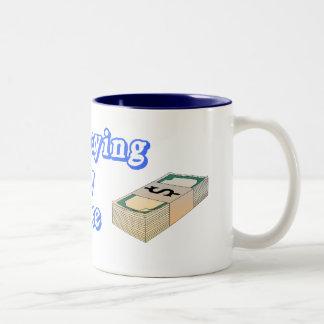 paying 4 Ex-perience Two-Tone Coffee Mug