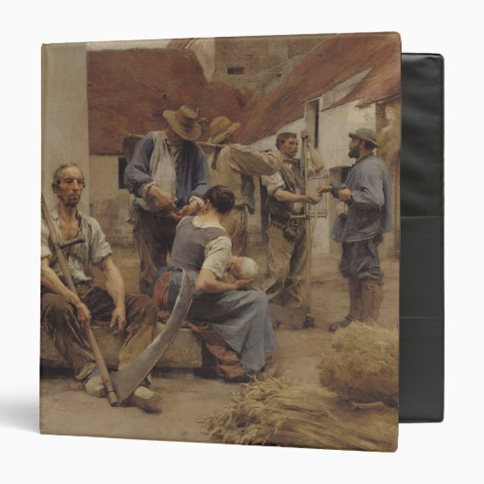 Paying the Harvesters, 1882 Binder