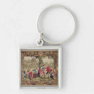 Paying the Harvesters, Gobelins Workshop Keychain