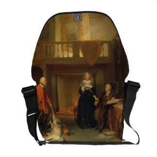 Paying the Tithe (oil on panel) Courier Bag