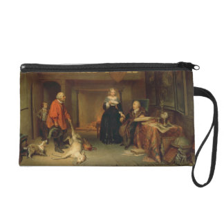 Paying the Tithe (oil on panel) Wristlet
