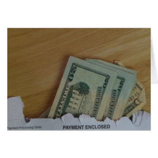Payment enclosed card