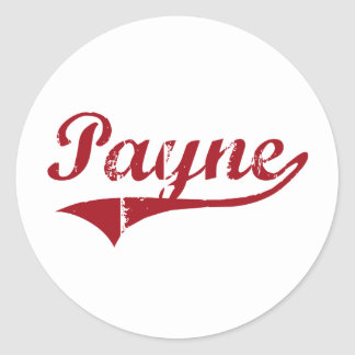 Payne Ohio Classic Design Classic Round Sticker