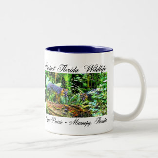 PAYNES PRAIRIE FOXES Two-Tone COFFEE MUG