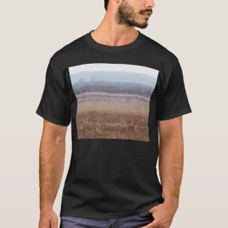 Paynes Prairie White Birds T-shirt