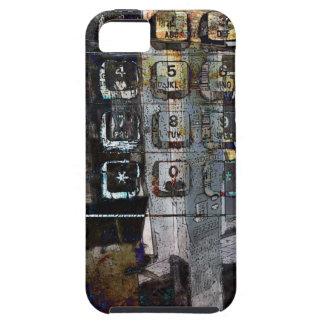 payphone keys collage i-phone case