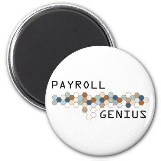 Payroll Genius Fridge Magnets