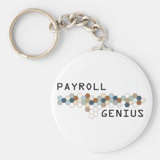 Payroll Genius Keychain